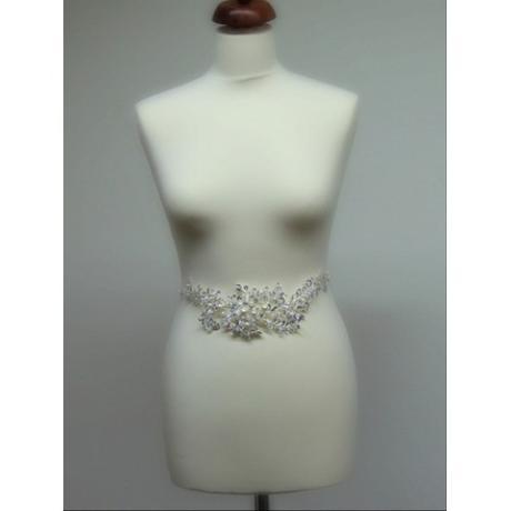 Opasok na svadobné a spoločenské šaty,