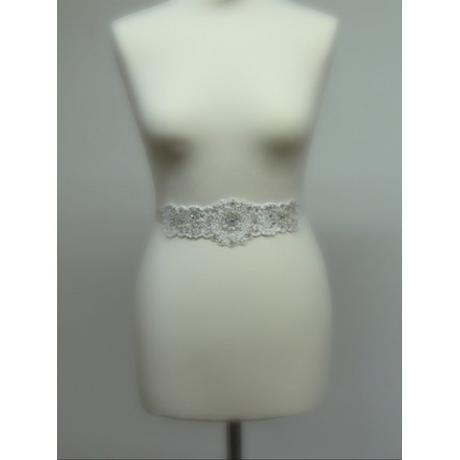 Opasok na svadobné a spoločenské šaty ,