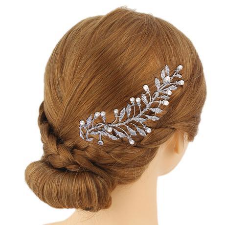 Perličkový hrebeň do vlasov ,