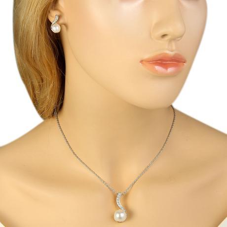 Perličkový náhrdelník,
