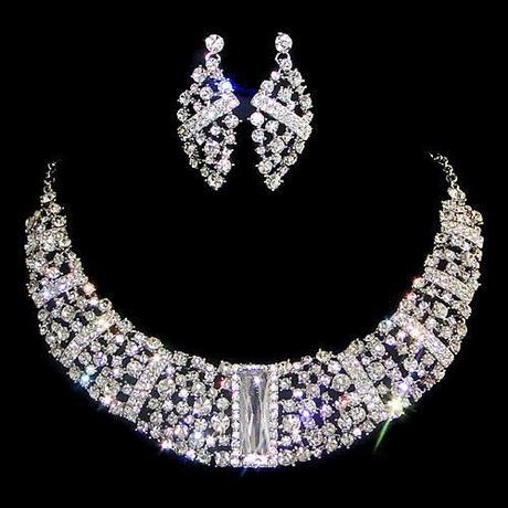 Spoločenský náhrdelník a náušnice  VÝPREDAJ,