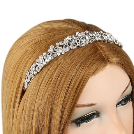 Svadobná čelenka do vlasov ,