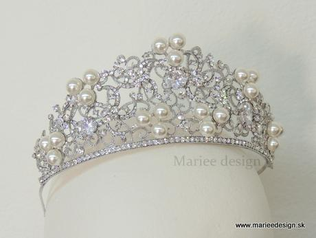 Svadobná korunka Luxury,