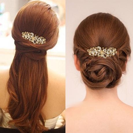 Svadobný perličkový hrebienok do vlasov,