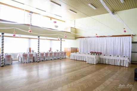 Luxusná svadboná výzdoba,