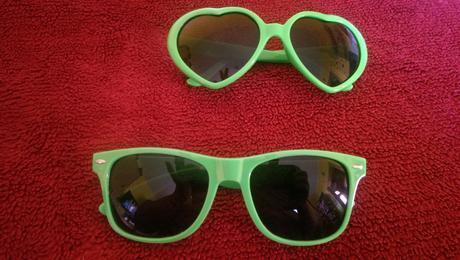 okuliare zelené,