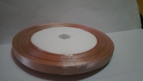 stuha na pierka staroružová 0,6 cm,