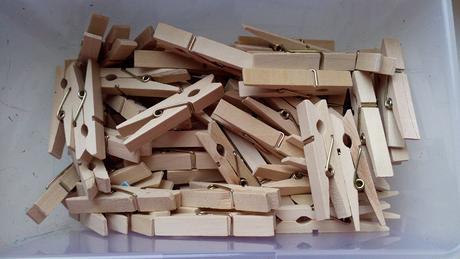 Dřevěné kolíčky 4,5 cm,