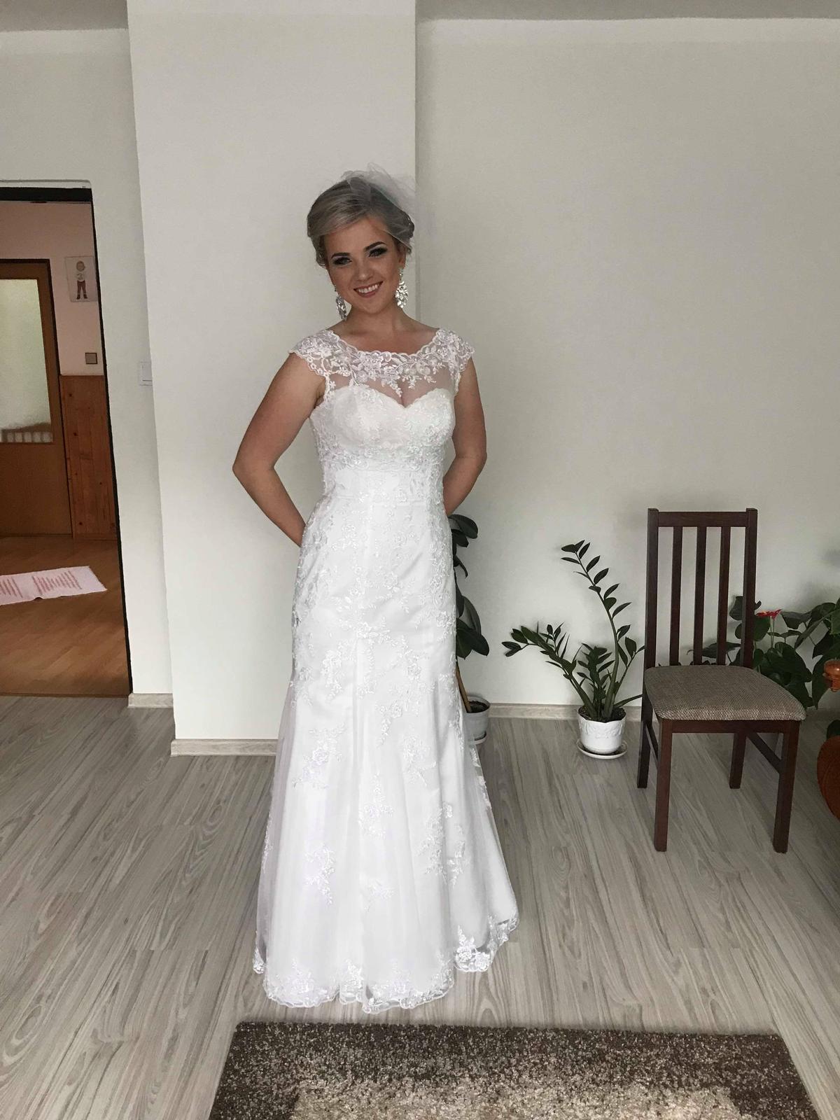4eb9aa1e26d3 Biele svadobné šaty - morská panna