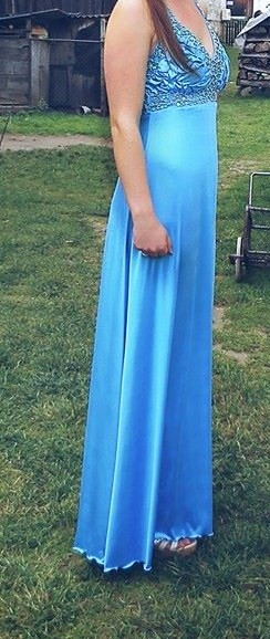 Spoločenské šaty-dlhé-L, 40