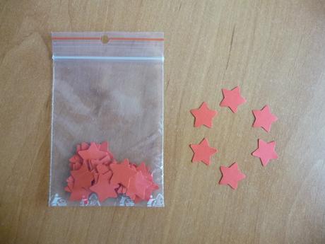 Konfety - hvězdičky - menší,