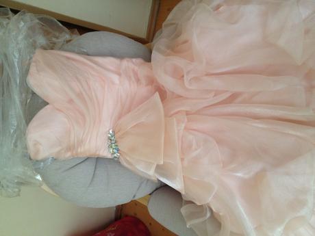 Spoločenské šaty Adisson - Maggie sottero púdrové, 38