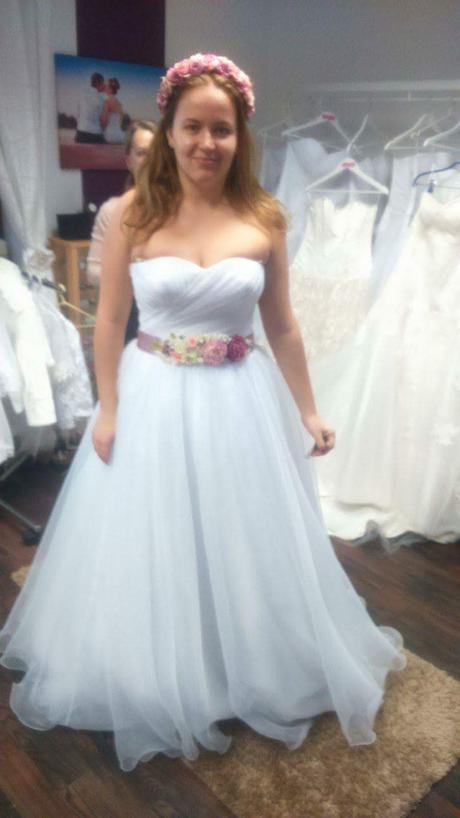 Svadobné šaty model Anastazia, 42