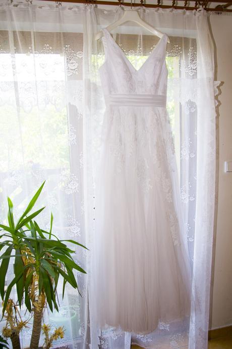 svatební šaty v. 36 , 36