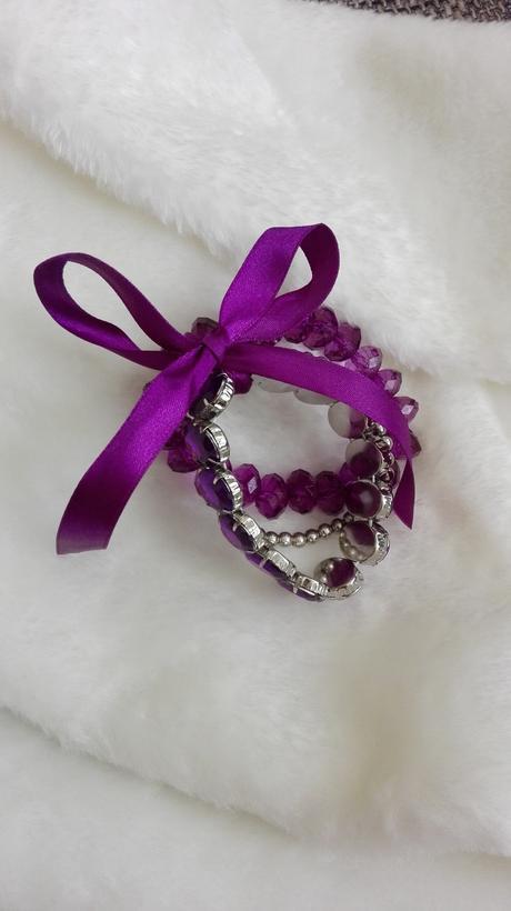 Purpurový náramek,