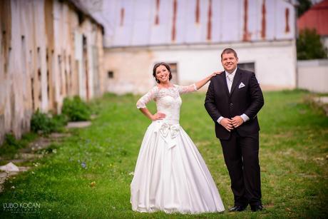 Svadobné šaty ivory, 38