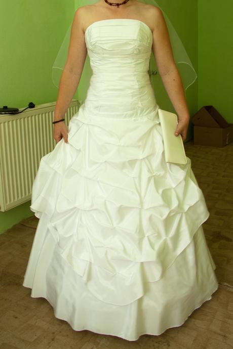 Svatební šaty vel. 36 - 40, 40
