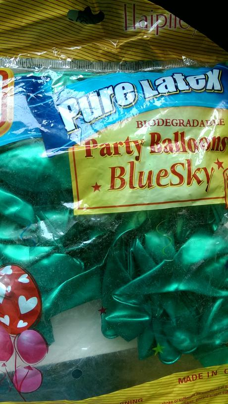 100ks zelených balónků,