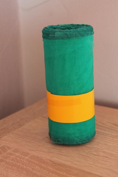 Organza šírka 12cm rôzne farby,