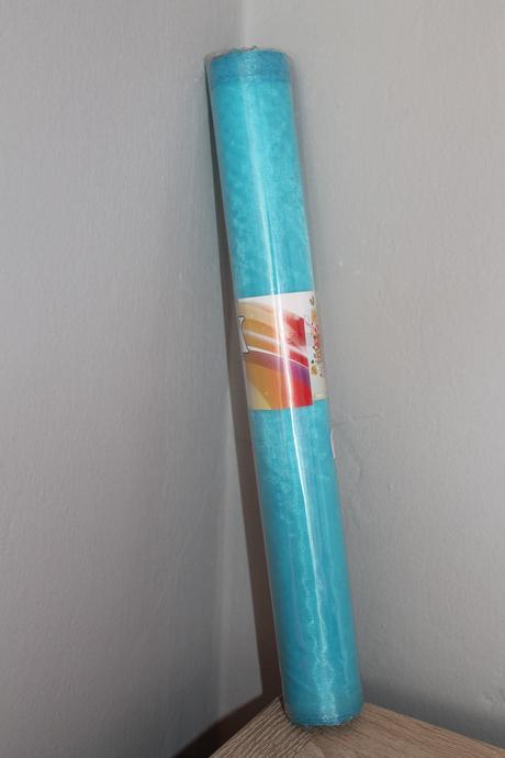 Organza šírka 36cm rôzne farby,