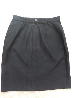 čierne elegantná puzdrová sukňa, S