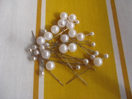 Špendlíky - perličky,