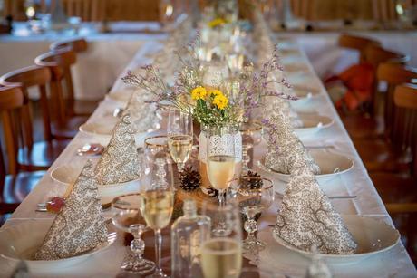 Sada dekorací na přírodní vintage svatbu,