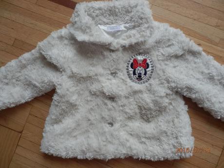chlupatý kabátek s Minie, 80