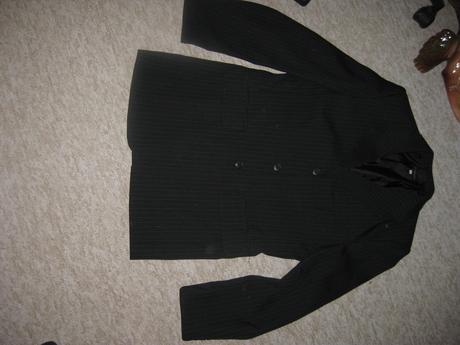 oblek  sako + kalhoty vel.44 ,182, , 44