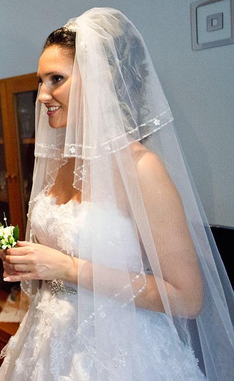 Výnimočný svadobný závoj,