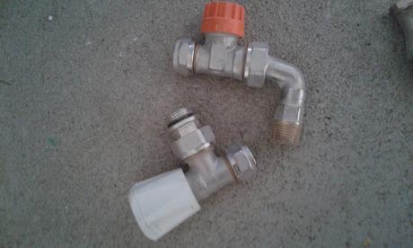 Radiátorový ventil,