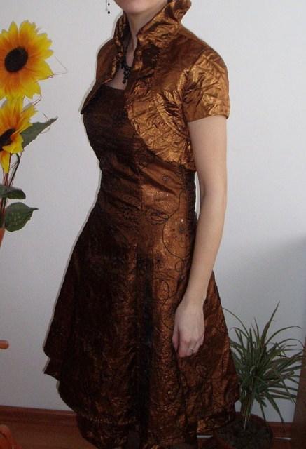 Spoločenské šaty + darček, 36