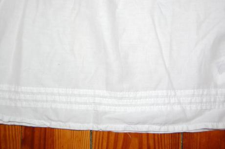 biela koselova tunika H&M, 80