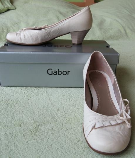 Svatební boty zn. Gabor vel. 38,5, 38