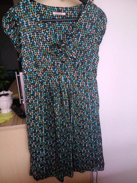 Retro šaty Camaieu vel.40, 40