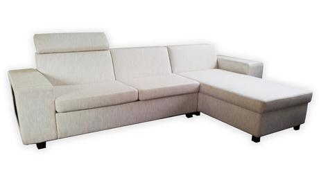 Smotanová moderná sedačka,