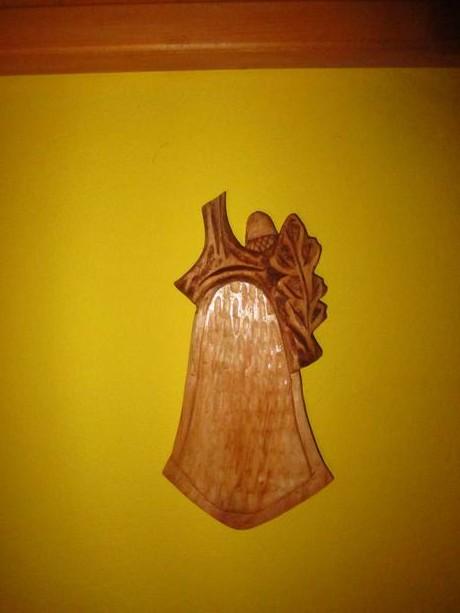 drevená podložka ,