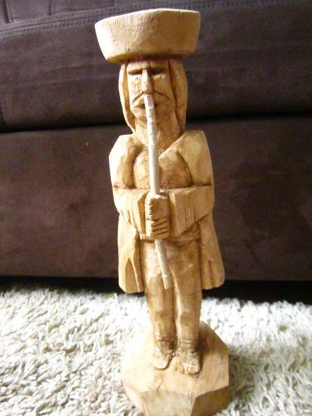 Jánošík z dreva,