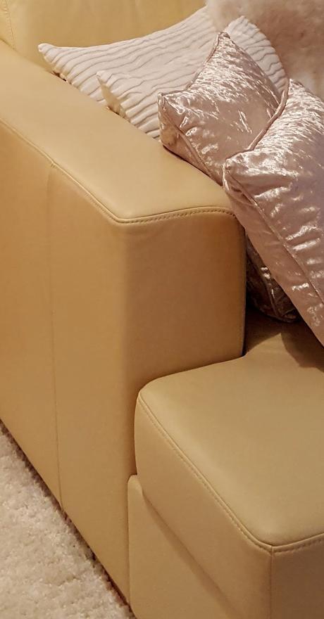 Moderní sedací souprava - pravá kůže,
