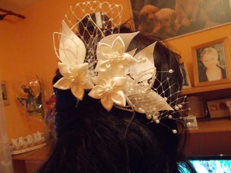 Smotanové svadobné šaty, 36