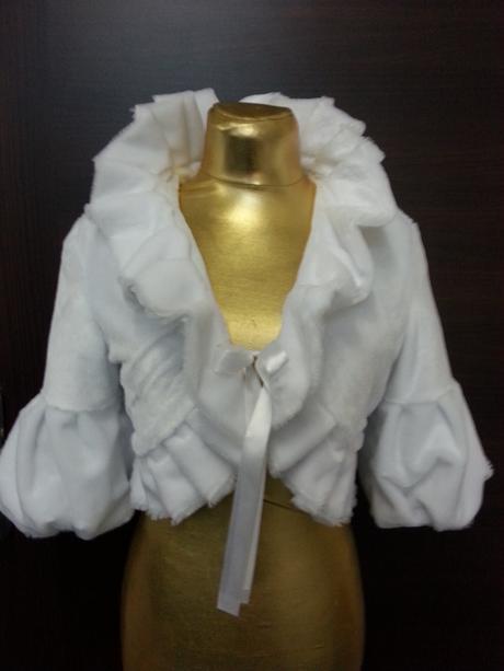 Kabátik na svadbu. Šijeme na mieru ,