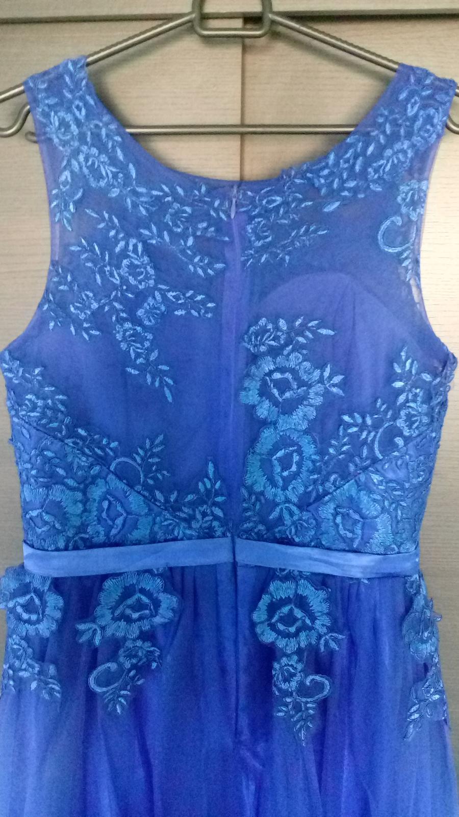 da9fc1fb755a Dlhé spoločenské šaty + opasok