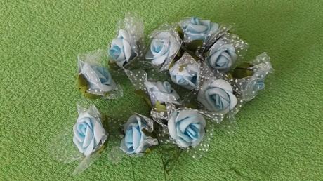 ozdobné květy růžiček,