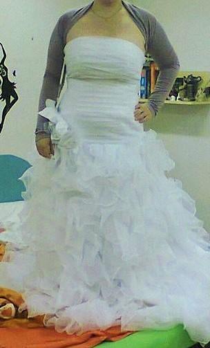 svatební šaty vel.42-44, 42