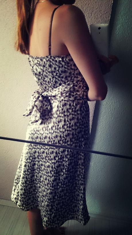 Reserved saténové šaty , 38