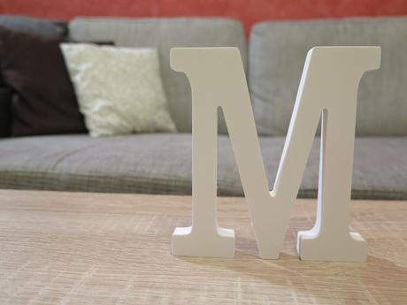 Písmeno M - 12 cm,