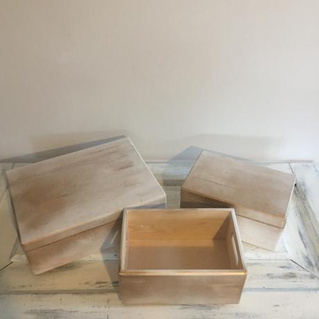 Svatební krabičky/krabice - dřevěné + zlatá barva,