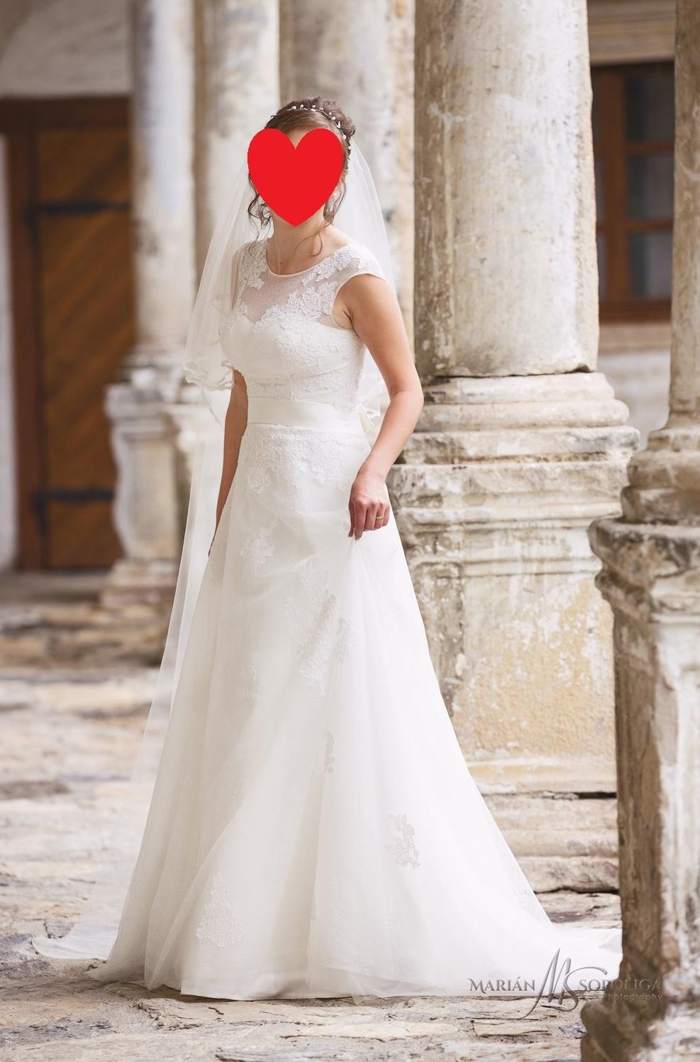 Romanticke Krajkove Svatebni Saty Zavoj Zdarma 36 4 000 Kc