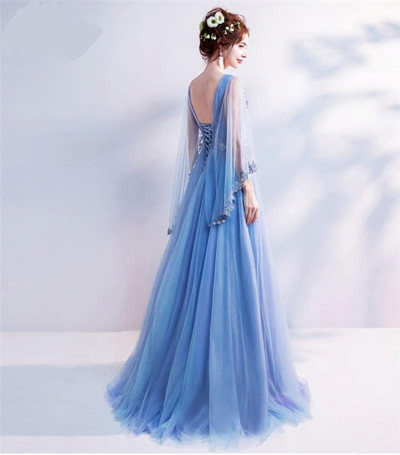 cfe99edf02d6 Dlhé spoločenské šaty pre moletky do veľkosti 54