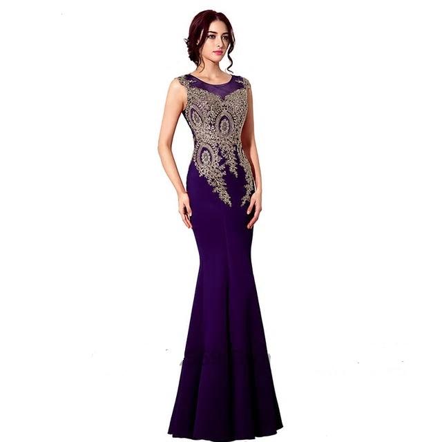 f75fb43a227f Dlhé spoločenské šaty - veľ. 32